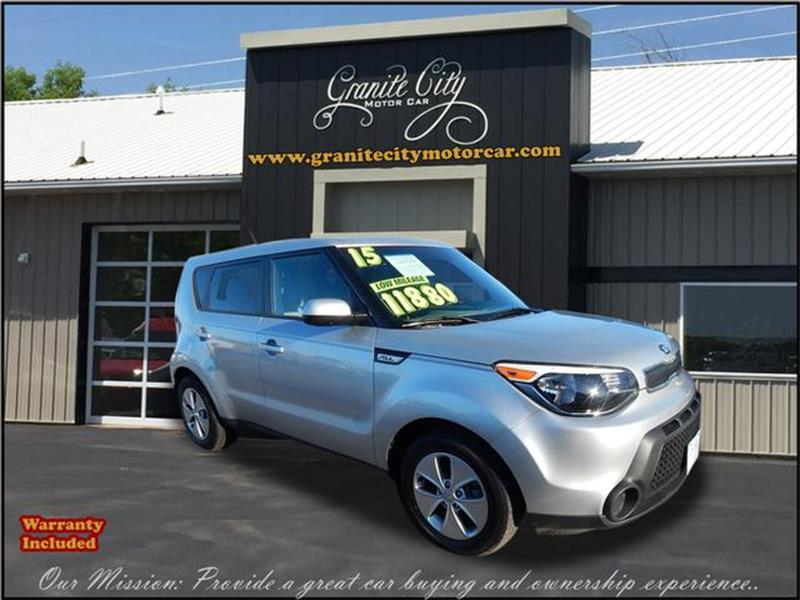 2015 Kia Soul Base 4dr Wagon 6A   Saint Cloud MN
