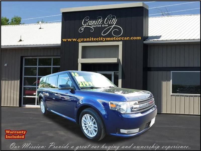 2016 ford flex sel in saint cloud mn granite city motor car. Black Bedroom Furniture Sets. Home Design Ideas