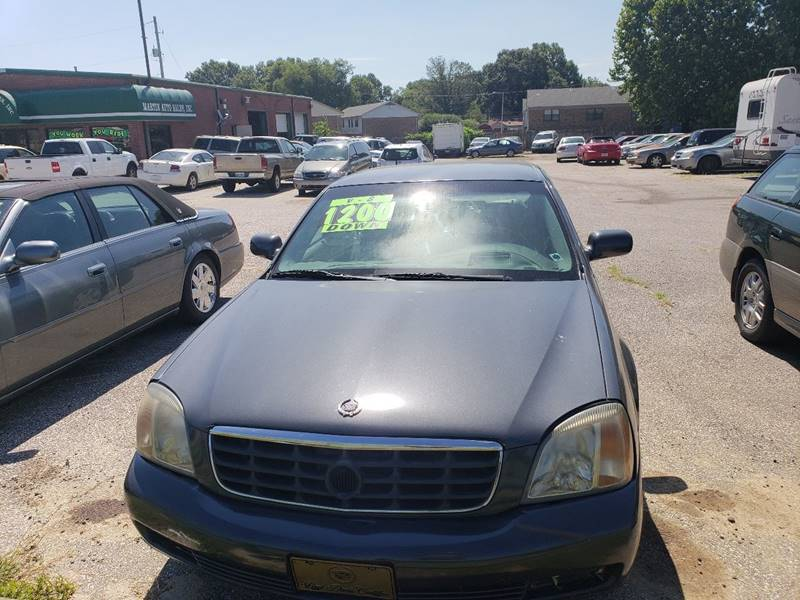 2001 Cadillac Deville Dts 4dr Sedan In Millington Tn Martin Auto