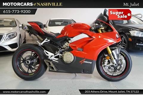 2018 Ducati Panigale V4S for sale in Mount Juliet, TN