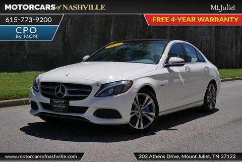 2017 Mercedes-Benz C-Class for sale in Mount Juliet, TN