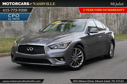 2018 Infiniti Q50 for sale in Mount Juliet, TN