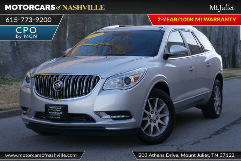 2016 Buick Enclave for sale in Mount Juliet, TN