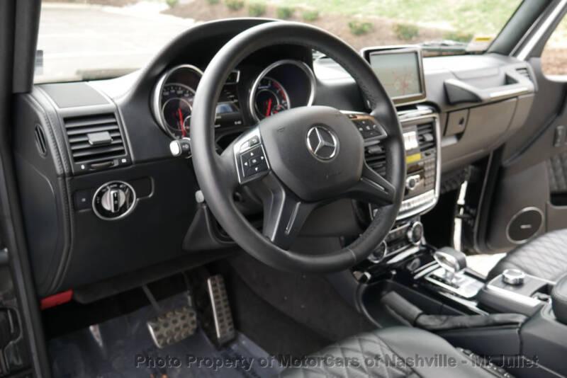 2016 Mercedes-Benz G-Class AMG G 63 (image 26)