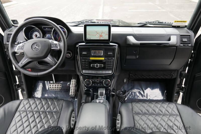 2016 Mercedes-Benz G-Class AMG G 63 (image 28)
