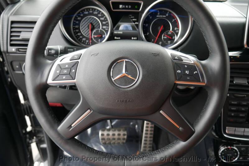 2016 Mercedes-Benz G-Class AMG G 63 (image 31)