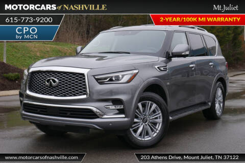 2018 Infiniti QX80 for sale at MotorCars of Nashville in Mount Juliet TN