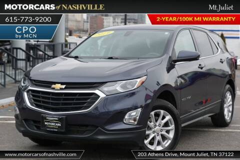 2019 Chevrolet Equinox for sale at MotorCars of Nashville in Mount Juliet TN