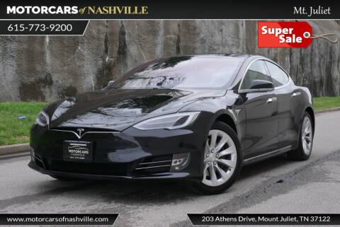2018 Tesla Model S 75D for sale at MotorCars of Nashville in Mount Juliet TN