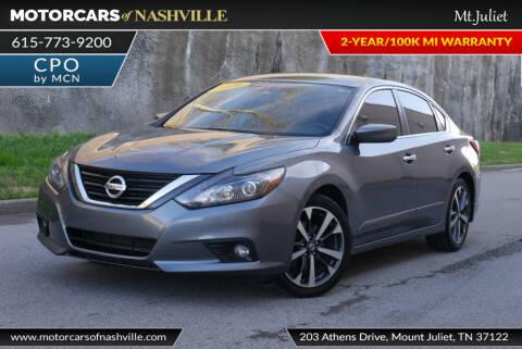 2016 Nissan Altima for sale at MotorCars of Nashville in Mount Juliet TN