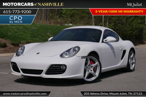 2011 Porsche Cayman S for sale at MotorCars of Nashville in Mount Juliet TN