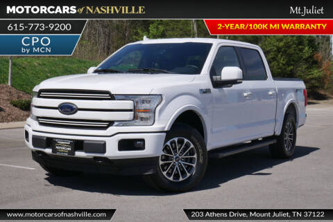 2018 Ford F-150 for sale at MotorCars of Nashville in Mount Juliet TN