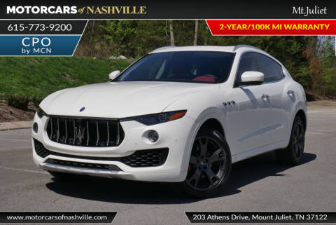 2018 Maserati Levante GranLusso for sale at MotorCars of Nashville in Mount Juliet TN