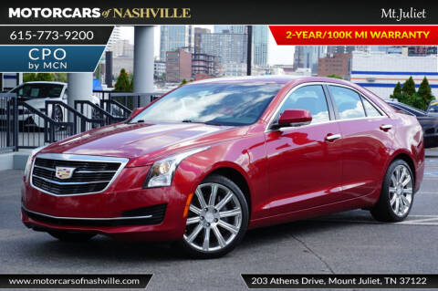 2015 Cadillac ATS 3.6L Luxury for sale at MotorCars of Nashville in Mount Juliet TN