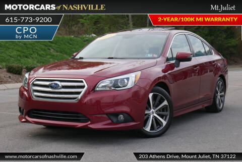 2015 Subaru Legacy 3.6R Limited for sale at MotorCars of Nashville in Mount Juliet TN
