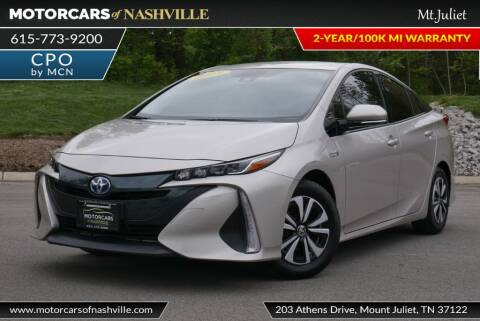 2019 Toyota Prius Prime for sale at MotorCars of Nashville in Mount Juliet TN
