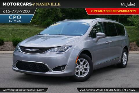 2020 Chrysler Pacifica for sale at MotorCars of Nashville in Mount Juliet TN