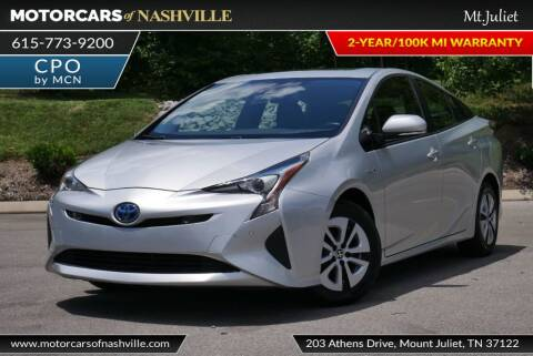2017 Toyota Prius for sale at MotorCars of Nashville in Mount Juliet TN