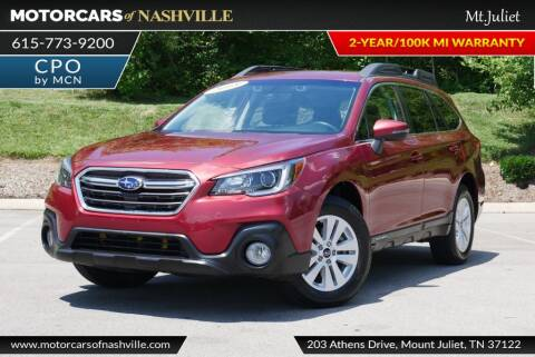 2018 Subaru Outback for sale at MotorCars of Nashville in Mount Juliet TN