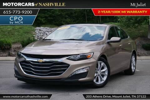 2019 Chevrolet Malibu for sale at MotorCars of Nashville in Mount Juliet TN