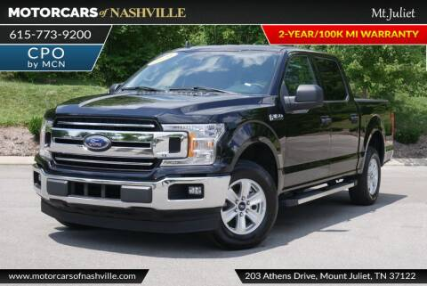 2020 Ford F-150 for sale at MotorCars of Nashville in Mount Juliet TN