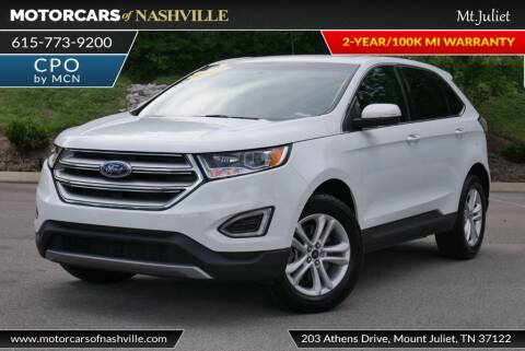 2017 Ford Edge for sale at MotorCars of Nashville in Mount Juliet TN
