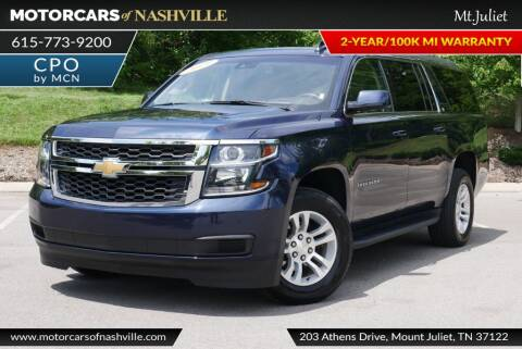 2019 Chevrolet Suburban for sale at MotorCars of Nashville in Mount Juliet TN