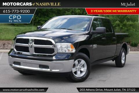 2020 RAM Ram Pickup 1500 Classic for sale at MotorCars of Nashville in Mount Juliet TN