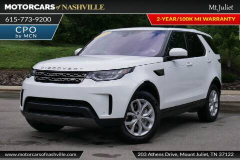 2019 Land Rover Discovery for sale at MotorCars of Nashville in Mount Juliet TN