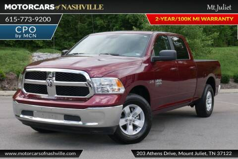 2019 RAM Ram Pickup 1500 Classic for sale at MotorCars of Nashville in Mount Juliet TN
