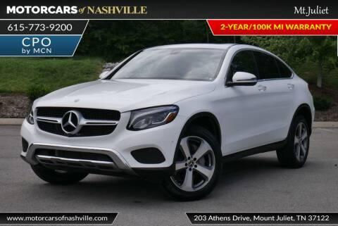 2019 Mercedes-Benz GLC for sale at MotorCars of Nashville in Mount Juliet TN