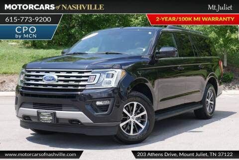 2019 Ford Expedition MAX for sale at MotorCars of Nashville in Mount Juliet TN