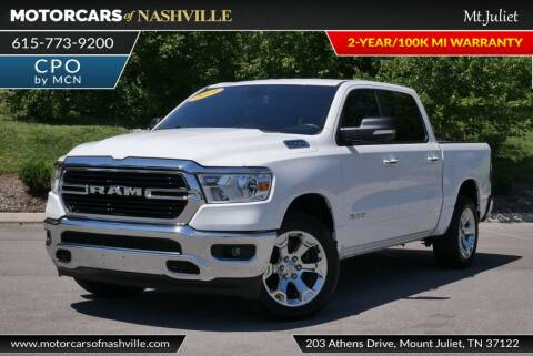 2019 RAM Ram Pickup 1500 for sale at MotorCars of Nashville in Mount Juliet TN