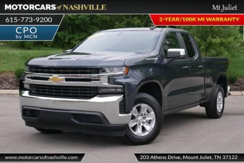 2020 Chevrolet Silverado 1500 for sale at MotorCars of Nashville in Mount Juliet TN