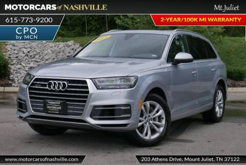 2019 Audi Q7 for sale at MotorCars of Nashville in Mount Juliet TN