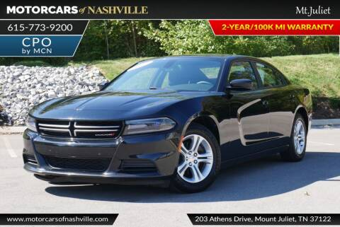 2017 Dodge Charger for sale at MotorCars of Nashville in Mount Juliet TN