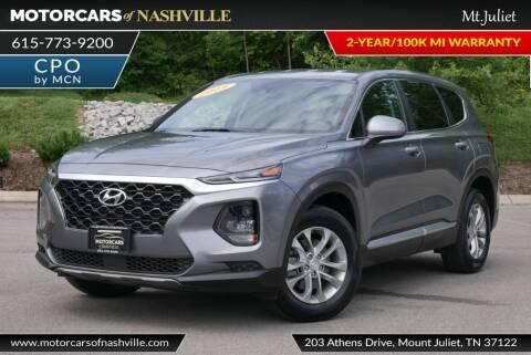 2019 Hyundai Santa Fe for sale at MotorCars of Nashville in Mount Juliet TN
