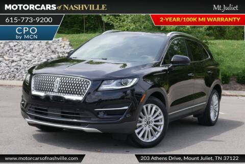 2019 Lincoln MKC for sale at MotorCars of Nashville in Mount Juliet TN