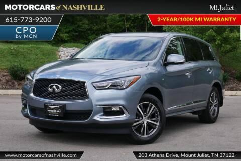 2019 Infiniti QX60 for sale at MotorCars of Nashville in Mount Juliet TN