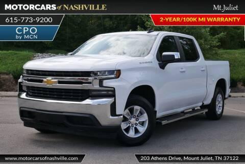 2019 Chevrolet Silverado 1500 for sale at MotorCars of Nashville in Mount Juliet TN