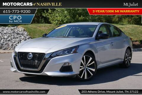2019 Nissan Altima for sale at MotorCars of Nashville in Mount Juliet TN