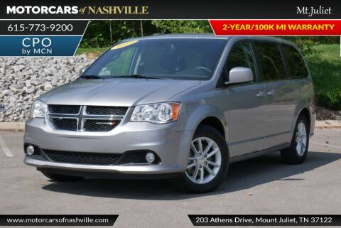 2019 Dodge Grand Caravan for sale at MotorCars of Nashville in Mount Juliet TN
