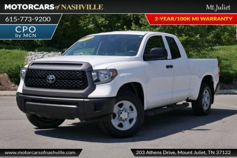 2019 Toyota Tundra for sale at MotorCars of Nashville in Mount Juliet TN