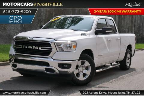 2020 RAM Ram Pickup 1500 for sale at MotorCars of Nashville in Mount Juliet TN