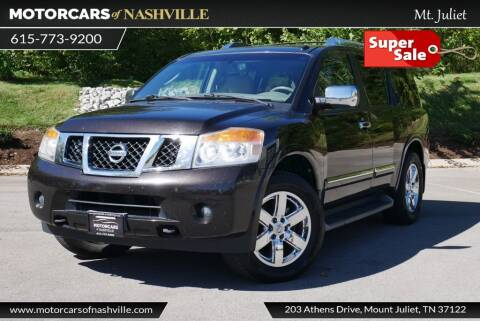 2011 Nissan Armada for sale at MotorCars of Nashville in Mount Juliet TN