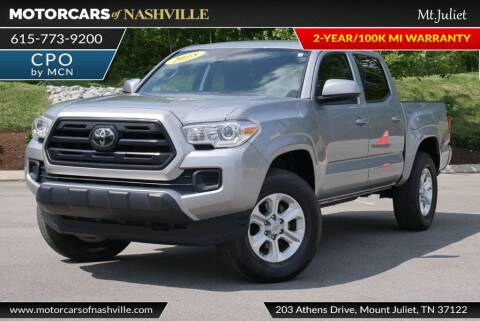 2018 Toyota Tacoma for sale at MotorCars of Nashville in Mount Juliet TN