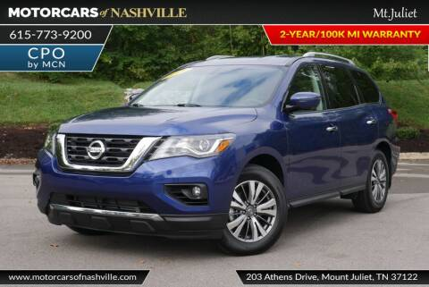 2019 Nissan Pathfinder for sale at MotorCars of Nashville in Mount Juliet TN