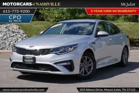 2020 Kia Optima for sale at MotorCars of Nashville in Mount Juliet TN