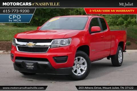 2018 Chevrolet Colorado for sale at MotorCars of Nashville in Mount Juliet TN