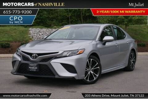 2019 Toyota Camry for sale at MotorCars of Nashville in Mount Juliet TN